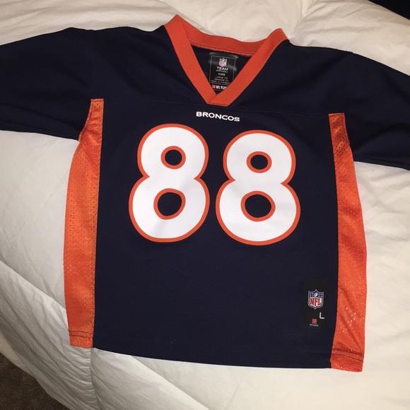 promo code 5163e 99c01 Denver Broncos kid jersey